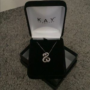 Jewelry - Brand new Silver necklace from Kay Jewelers